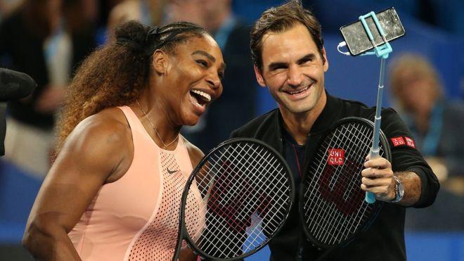 «Исторический поединок»: Роджер Федерер одолел Серену Уильямс