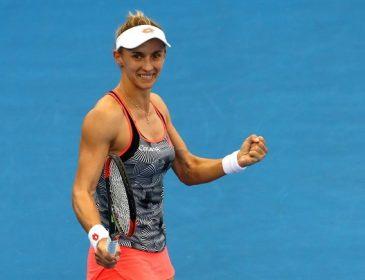 Украинка Леся Цуренко с победы над россиянкой стартовала на Australian Open