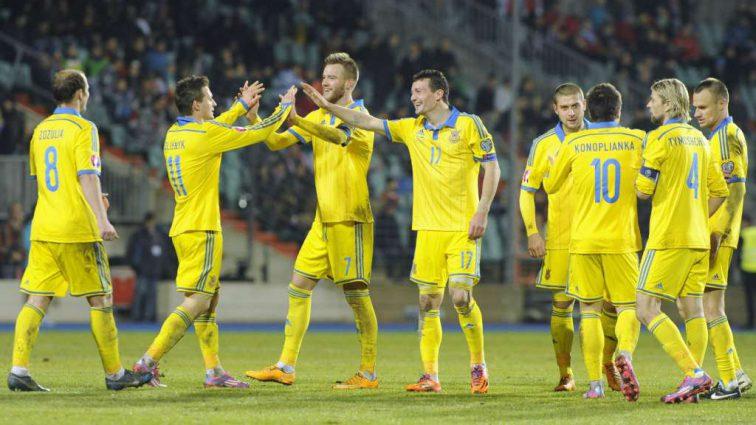 Украинская сборная завоевала рекордное место в рейтинге ФИФА за последние 4 года