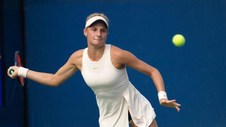 Украинка Даяна Ястремская пробилась в четвертьфинал теннисного турнира в Таиланде