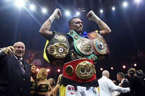 «Усик хочет стать королем»: промоутер украинского боксера рассказал о его амбициях в супертяжелом весе