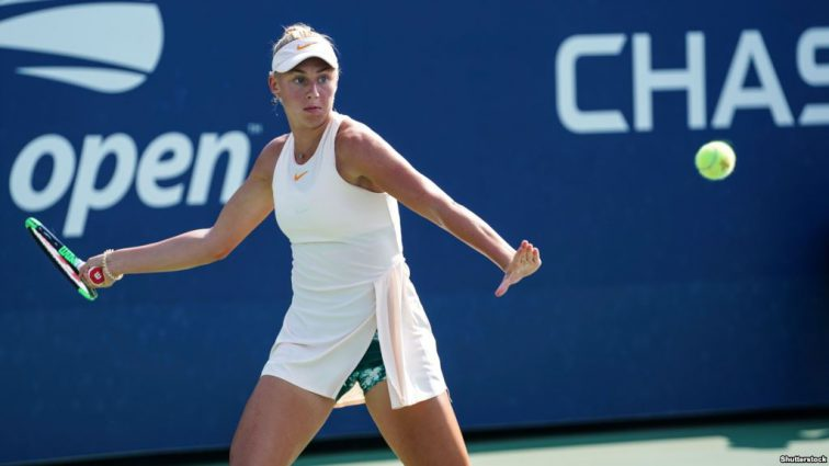 15-летняя украинка Дарья Лопатецкая выиграла теннисный турнир ITF в Гонконге
