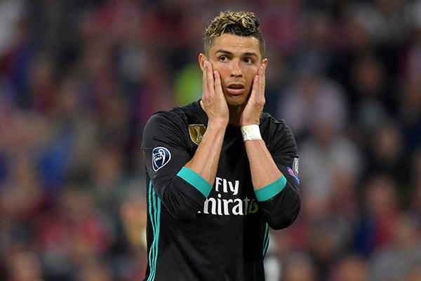 Суд приговорил Роналду до 23 месяцев тюрьмы условно и штрафу почти в 19 миллионов евро