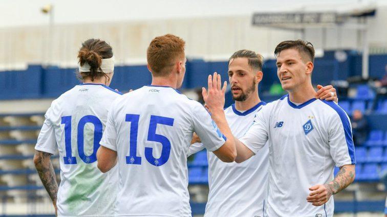 Киевское «Динамо» разгромило немцев в первом матче года