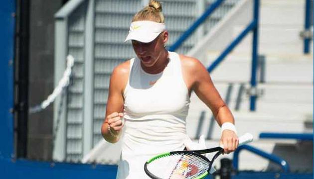 15-летняя украинская теннисистка Дарья Лопатецкая пробилась в полуфинал турнира в Гонконге