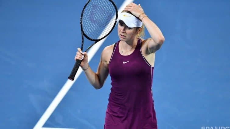 Элина Свитолина проиграла на старте парных соревнований в Брисбене