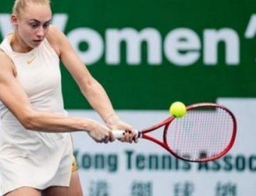 15-летняя украинская теннисистка выиграла турнир в Гонконге