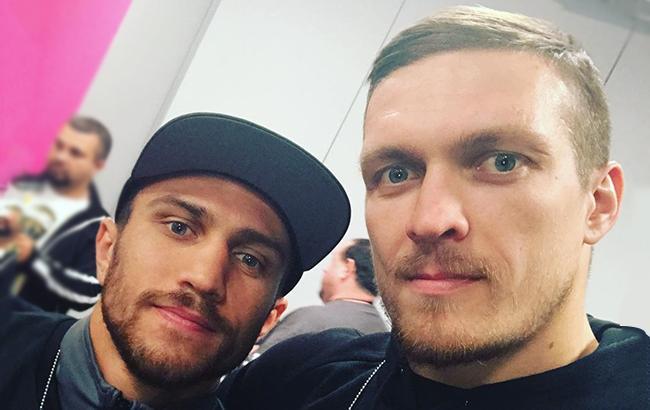 Усик и Ломаченко попали в ТОП-5 рейтинга Forbes