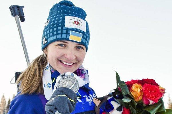 Украинская биатлонистка Юлия Журавок победила в короткой индивидуальной гонке Кубка IBU