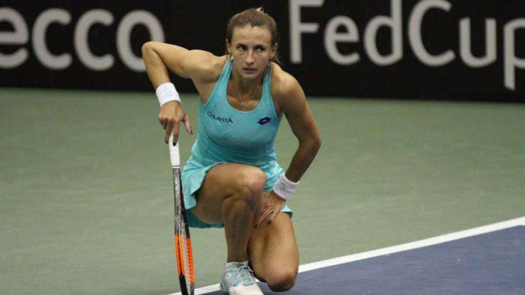 Вслед за Свитолиной: Украинская теннисистка Леся Цуренко пробилась в 1/8 супертурнира в Дубай