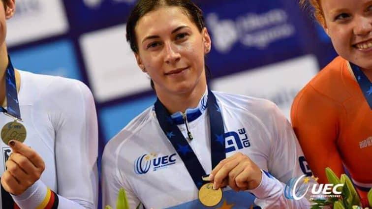 Львовская велосипедистка стала лучшей спортсменкой января