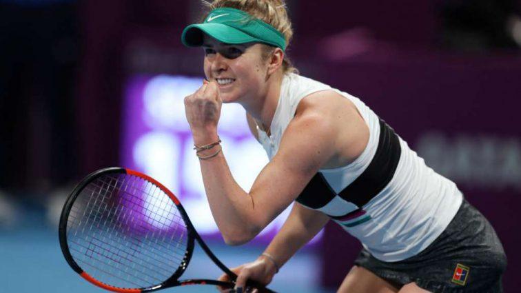 Украинка Элина Свитолина пробилась в третий круг теннисного турнира WTA в Дубае
