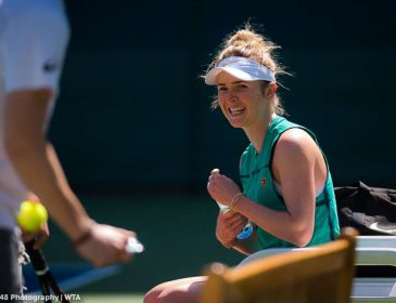 Украинка Элина Свитолина уверенно вышла в полуфинал турнира в Дубае