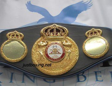 «Наконец мечта сбылась»: Украинский боксер получил свой чемпионский пояс WBA